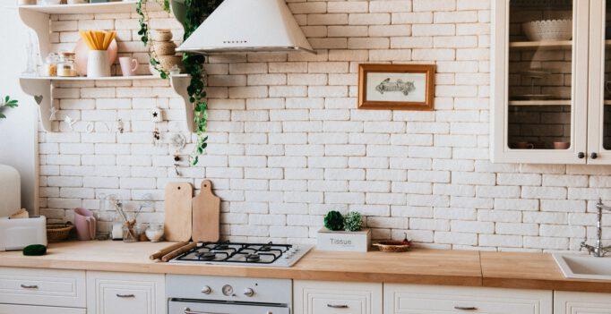 strakke landelijke keuken