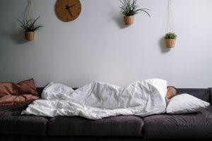 kleine slaapbank